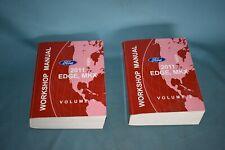 2011 Ford Edge Lincoln MKX Workshop Service Repair Shop Maintenance Manual Set