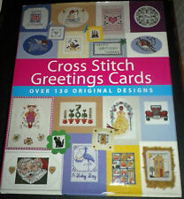 Cross Stitch Greetings Cards Anne E WIlson. Hardback Book