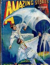 ORIGINAL VG Bedsheet-sized Mag Nov 1932 25c AMAZING STORIES 'Scientific Fiction'