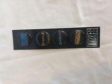 Blizzcon 2007 4 Pin Set Goodie Bag Exclusive Blizzard NoC