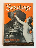 Sexology Sex Science Magazine Illustrated January 1960 Vol.26 No.6