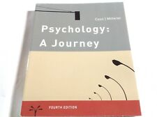 Psychology: A Journey 4th edition 4e (2010, Paperback) Coon, Mitterer VERY GOOD