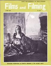 FILMS AND FILMING June 1961 - Spencer Tracy, Darry F. Zanuck, Kirk Douglas