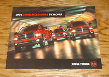 Original 2004 Dodge Ram Truck Accessories By Mopar Sales Brochure 04