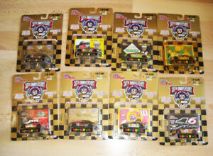 BIG lot of 8 Toys R US 50th ANN. NASCAR 1:64 DIECAST 1998 cars NEW in Packages!