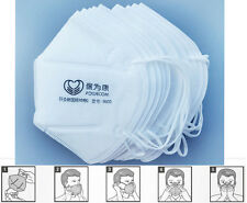 10pcs Dust Mask Filter Mask by Breathe Healthy For Dust, Pollen & Allergy Relief