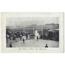 More details for ayr racecourse, the winning post, old postcard postmark ayr c1915