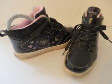 DISNEY Violetta ° coole Sneakers Gr. 35 schwarz Mädchen Schuhe Stiefel Boots TOP