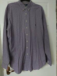 Ralph Lauren XLT  Tall, long sleeve shirt