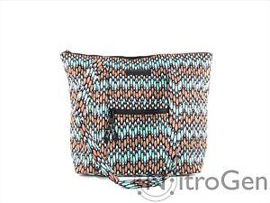 Vera Bradley Villager Fabric Top Zip Tote Brand New