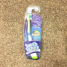 "Tooth Tunes Battery Powered Toothbrush - Black Eyed Peas ""Let's Get it Started"""