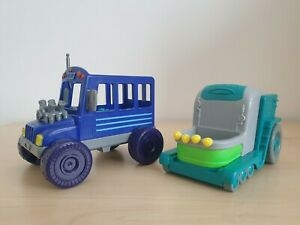 PJ Masks Vehicle Bundle - Romeo's Lab and Night Ninja's Bus - Christmas Present