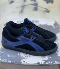 90s Vans Swell Skateboarding Shoes Black Suede Korea 100% Authentic US11