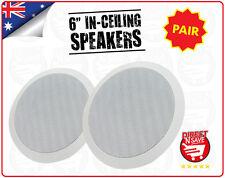 """In-Ceiling Speakers In-Wall Speakers 6"""" Home Theatre, Caravan Campervan 5RIC6"""
