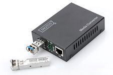 Digitus Proffesional® Gigabit LWL Medienconverter RJ45 / SFP DN-82130