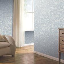 Arthouse Country Folk Blue Floral Butterflies Wallpaper 697300