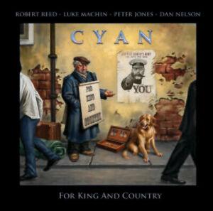 CYAN - KING AND COUNTRY 2021 CD + DVD SEALED CD ROBERT REED PETE JONES UK PROG