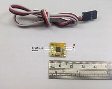 002: 1x micro 3A BL ESC 0.5gram, suit with 3.7V 1S lipo, for mini RC AirPlane