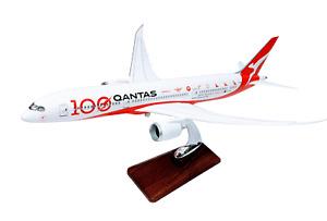 Qantas 100th Anniversary Large Plane Model Boeing 787-9