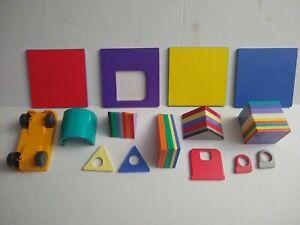 Magna-Tiles Solid Colors 48 Pieces 3D Building Lot