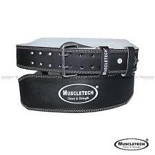 Leather Gym Weight Lifting Belt Back Support Exercise Belt Fitness Training Belt