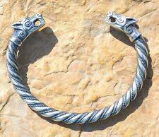 BRACELET FENRIR Viking Wolf Iceland Sterling Silver Pagan Pagan Asatru Vikings