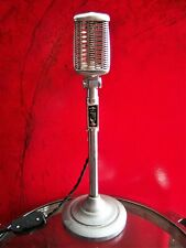 Vintage 1950's Astatic 77 microphone custom LED lamp midcentury modern light