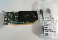 NVIDIA NVS 510 VCNVS510 2GB VIDEO CARD & 2 X NINI DISPLAY PORT CABLES