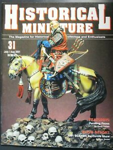 Historical Miniatures Magazine #31 Model Figure Military - Pre Owned!!