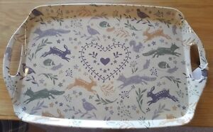 Cooksmart Woodland Collection Large Tray hare/fox/hedgehog/squirrel/pheasant