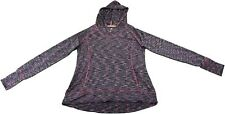 Tangerine Womens Size Small Athletic Pullover Hooded Jacket, Wine