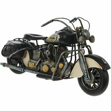 Lesser & Pavey Tin Model Motorcycle Indian Chief Style Motorbike 36cm Boxed