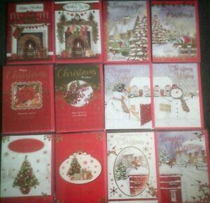 XMAS CARD*HAPPY CHRISTMAS*WISHES*SNOWMAN*ROBIN*TREE*CHOOSE DESIGN*GREETING