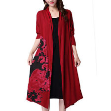 Polyester Floral Cardigans for Women