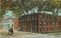 Augusta Maine Publishing House Vickery C-1910 postcard 3564