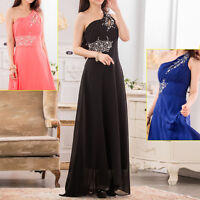 Womens Ladies Wedding Party Evening Cocktail Formal Dress Size 12 14 16 18 #3369