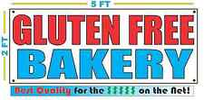 Gluten Free Bakery Banner Sign New Larger Size Best Quality For The