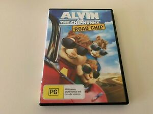 The Alvin And The Chipmunks - Road Chip DVD