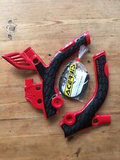 BETA 250 350 RR 2t 2 stroke 2013-2018 Acerbis Rojo y negro Protectores de chasis