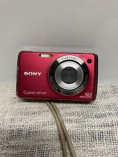 Sony Cyber-shot DSC-W230 12.1MP Digital Camera - W/ Battery, Charger, and Case