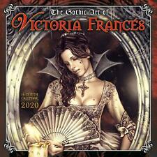 GOTHIC ART OF VICTORIA FRANCES - 2020 WALL CALENDAR  - BRAND NEW - 907495