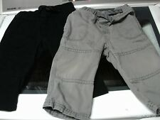 Lot of 2 Little Boys Pants Size 12 Mos By Circo