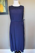 NWT Madewell Bungalow Maxi Dress in Midnight Blue Sz XS Extra Small 44154 $188