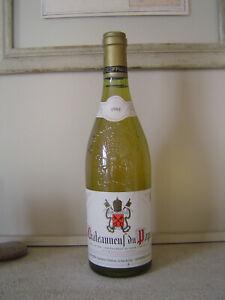 CHATEAUNEUF DU PAPE Blanc 1980 MESTRE LA FONT DU PAPE