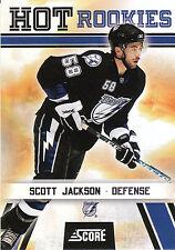 10/11 SCORE GLOSSY ROOKIE RC #550 SCOTT JACKSON LIGHTNING *8191