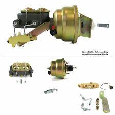 "1968-74 Chevy Nova FW Mount Power 7"" Dual Diaphragm Brake Booster Kit Disc/Drum"