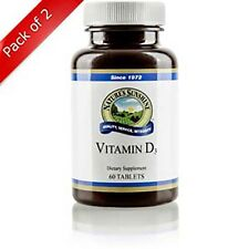 Natures Sunshine Vitamin D3 (60 tabs) (ko) (Pack of 2)