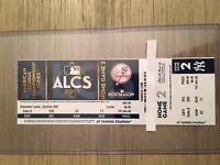 2017 New York Yankees vs Houston Astros 10/17 ALCS Home Game 2 Ticket Stub
