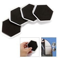 4Pcs Furniture Sliders Mover Pad Floor Protectors for Moving Wood Carpet Tile