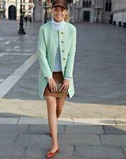 J.CREW Tall Double-Cloth Sabrina Coat Size 6 Orig. $350 NEW